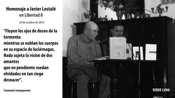 Homenaje a Javier Lostalé